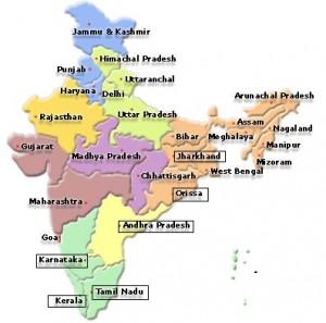nuova MAPPA INDIA